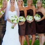 Sarah and bridesmaids - photography by Amy Raab