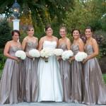 Jen and bridesmaids