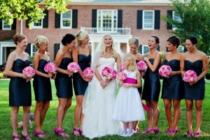 Lauren Eller and Bridesmaids