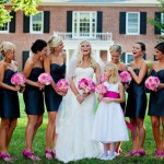 Lauren and Bridesmaids - Photography by Amy Raab