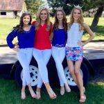 Lily, Gretchen, Jillian and Victoria