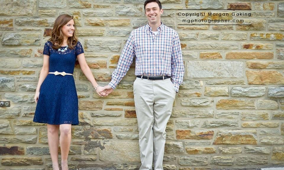 Nicole Engagement Photo - photography by Morgan Gaking