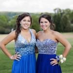 Sarah and Megan Hunter prom 3