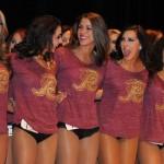 Kirstin - Redskins Cheerleader Tryouts