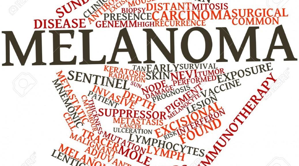 melanoma word
