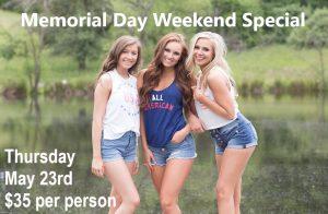 Memorial Day Special 2019