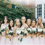 Caroline Key and bridesmaids - Sarah Murray Photography