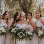 Cassandra West and bridesmaids 1