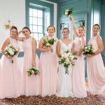 Lauren Kozlosky and bridesmaids